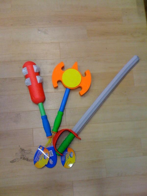 spielzeug, polsterwaffe, larpwaffe, larpschwert
