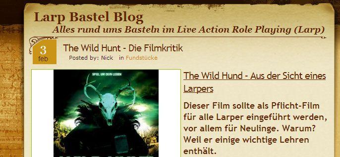 Larp Bastel Blog