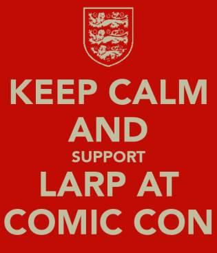 Larp at comic con