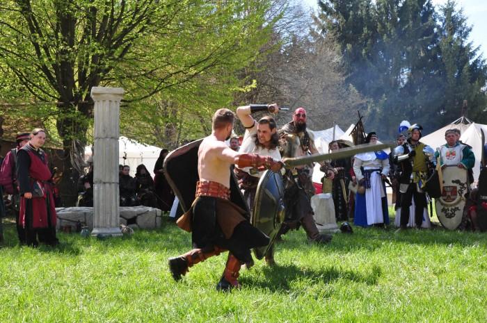 Sowohl in der Arena wie auch bein Shan Abbar wurde viel gekämpft, gelitten aber auch triumphiert!